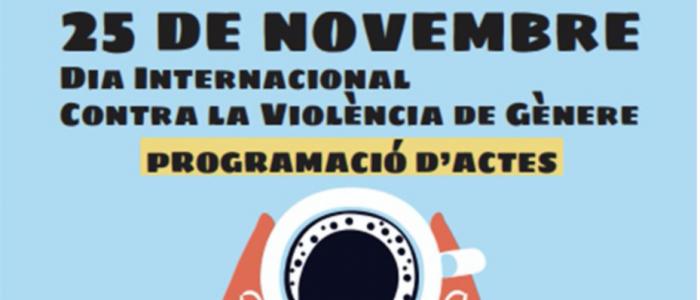 La campanya de recursos i serveis contra la violència masclista dona el tret de sortida al programa del 25N de #santjust
