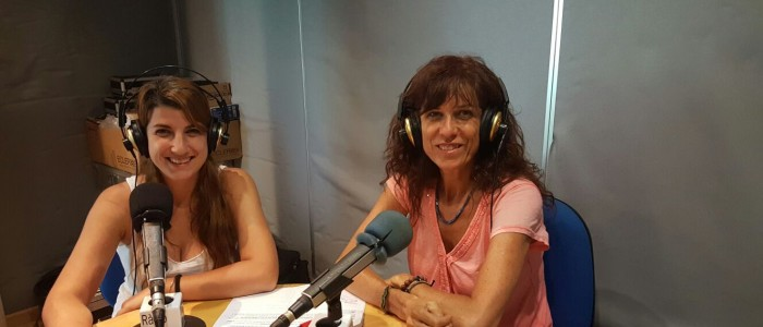 Ira Peire i Marta Malaret. Presidenta i vicepresidenta de DiE